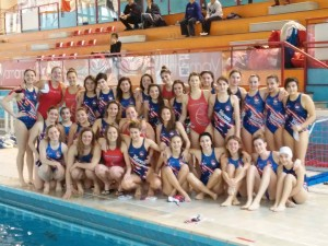 La squadra del Varese Olona Nuoto