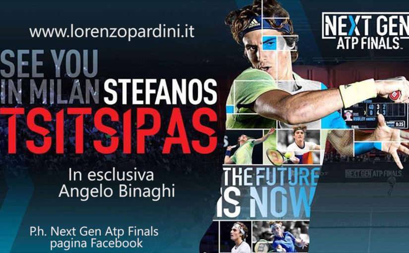 Angelo Binaghi promuove le Next Gen Atp Finals 2018